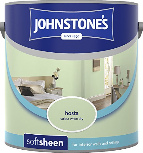 Johnstone's 304145 2.5 Litre Soft Sheen Emulsion Paint - Hosta
