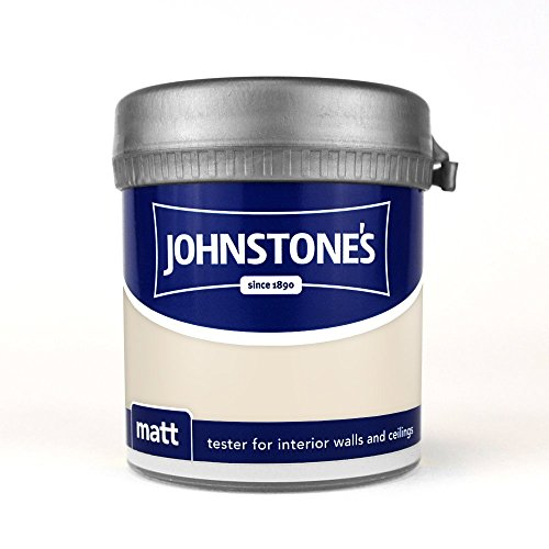Johnstone's Matt Tester 75ml - Magnolia
