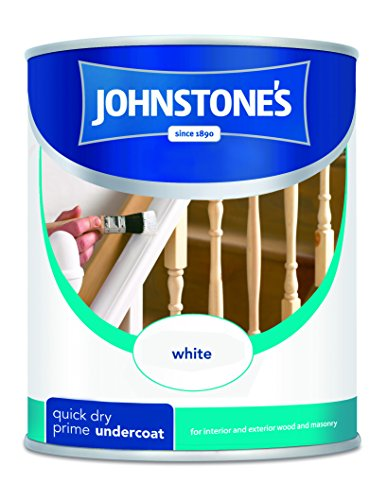 Johnstone's Quick Drying Primer Undercoat 750 Millilitres White