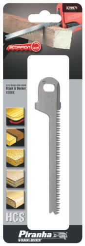 Black & Decker Scorpion Saw Blade - Curve Cut