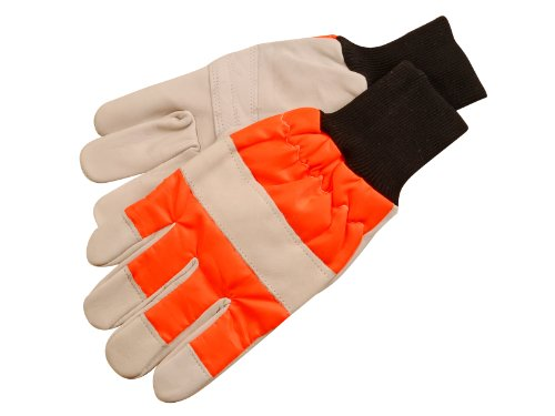 Alm Manufacturing Ch015 Chainsaw Safety Gloves ( Large )