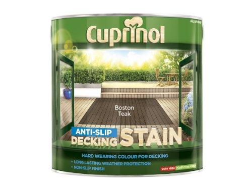 Cuprinol 2.5l Anti Slip Decking Stain Boston Teak