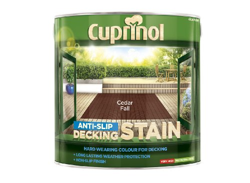 Cuprinol Anti-Slip Decking Stain Cedar Fall 2.5 Litre