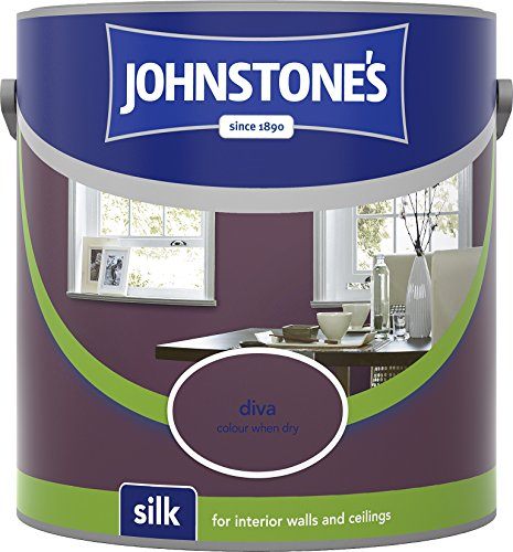 Johnstone's 304103 2.5 Litre Silk Emulsion Paint - Diva