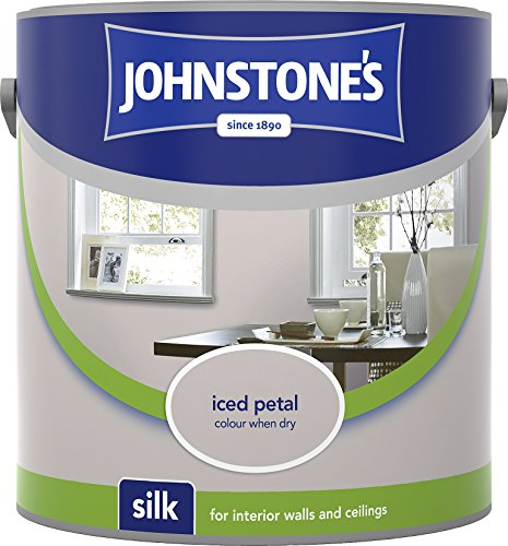 Johnstone's 306577 2.5 Litre Silk Emulsion Paint - Iced Petal