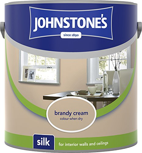 Johnstone's 306593 2.5 Litre Silk Emulsion Paint - Brandy Cream