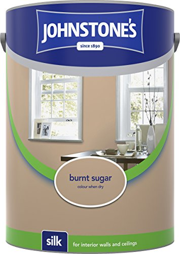 Johnstone's 306595 5 Litre Silk Emulsion Paint - Burnt Sugar