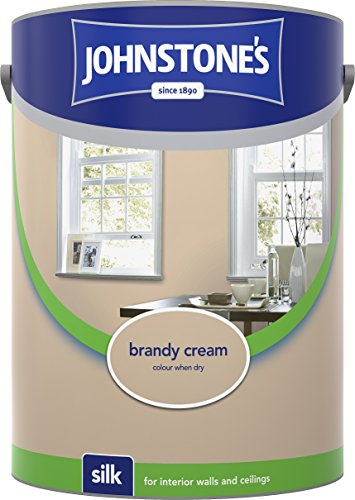 Johnstone's 306606 5 Litre Silk Emulsion Paint - Brandy Cream