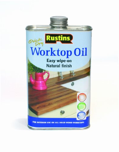 Rustins 500ml Quick Dry Worktop Oil