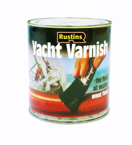 Rustins Yasv1000 1l Yacht Varnish Satin