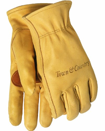 Town & Country Ladies' Elite Leather Gloves - Medium