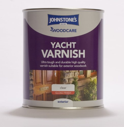 0.25LTR - JOHNSTONE'S WOODCARE YACHT VARNISH CLEAR