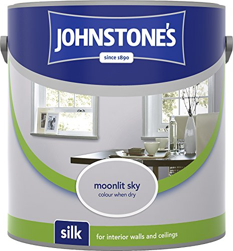Johnstone's 305981 2.5 Litre Silk Emulsion Paint - Moonlit Sky