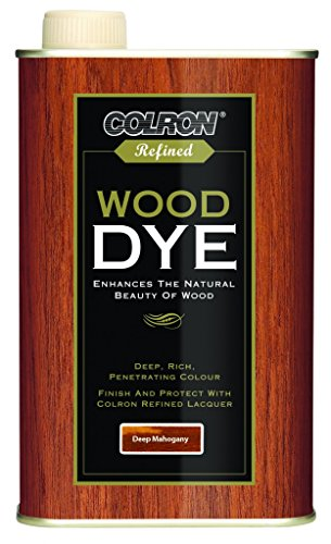 Colron Refined Wood Dye 250ml - Deep Mahogany