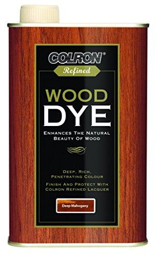Colron Refined Wood Dye 250ml - Deep Mahogany
