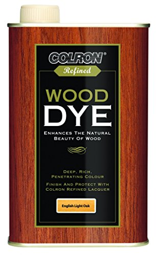 Colron Refined Wood Dye 250ml - English Light Oak