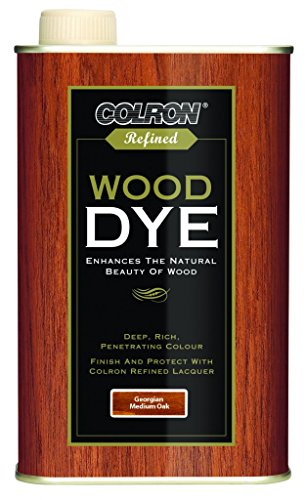 Colron Refined Wood Dye 250ml - Georgian Medium Oak