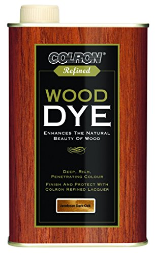 Colron Refined Wood Dye 250ml - Jacobean Dark Oak