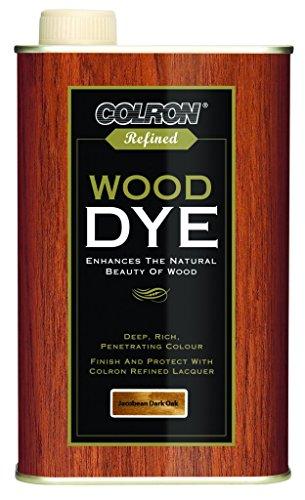 Colron Refined Wood Dye 250ml - Jacobean Dark Oak
