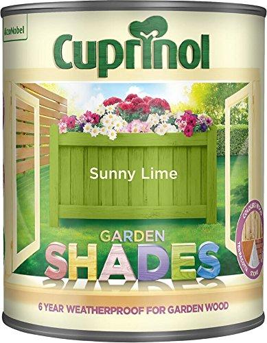 Cuprinol Garden Shades Sunny Lime 1 Litre