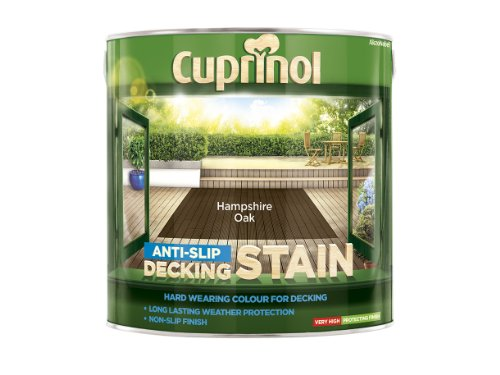 Cuprinol 2.5l Anti Slip Decking Stain Hampshire Oak