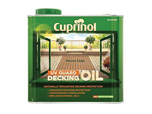 Cuprinol 2.5l Decking Oil And Protector - Natural Cedar