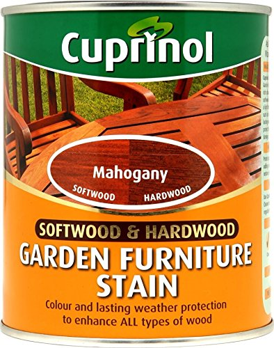 Cuprinol 750ml Garden Furniture Stain - Mahogany