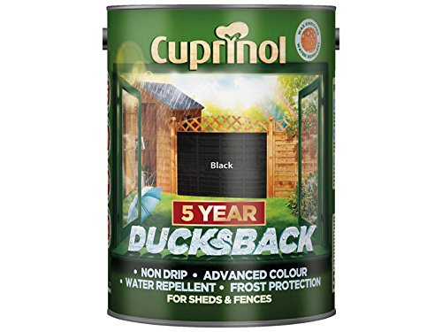 Cuprinol Cupdbbl5l 5 Litre 5 Year Ducks Back - Autumn Black