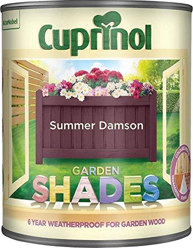 Cuprinol Garden Shades Summer Damson 1 Litre