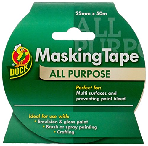 Duck Tape® All-Purpose Masking Tape 25mm x 50m