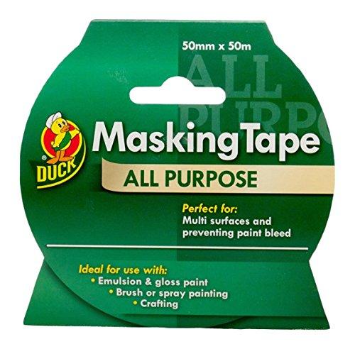 Duck All Purpose Masking Tape - 50 Mm X 50 M