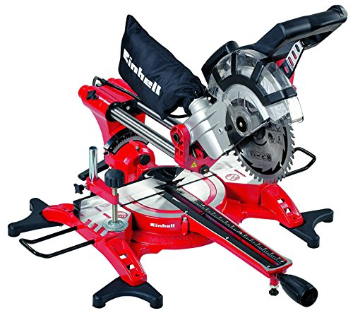 Einhell Dual Sliding Mitre Saw & Laser 210mm 1800W 240V