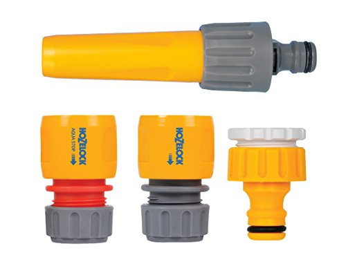 Hozelock Hose Nozzle & Threaded Tap Starter Set