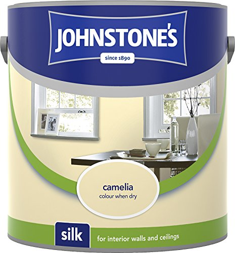 Johnstone's 307065 2.5 Litre Silk Emulsion Paint - Camellia