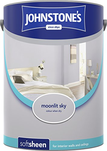 Johnstone's 307071 5 Litre Soft Sheen Emulsion Paint - Moonlit Sky