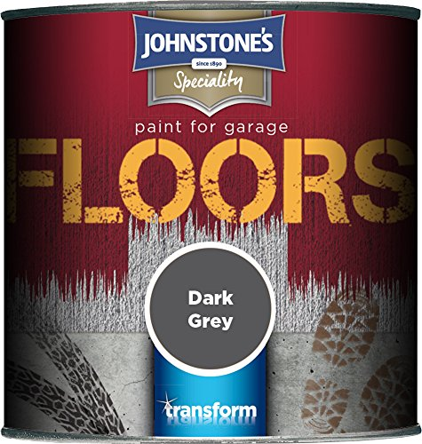 Johnstone's 307938 250ml Garage Floor Paint - Dark Grey