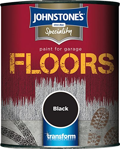 Johnstone's 307940 750ml Garage Floor Paint - Black