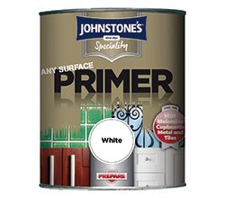Johnstone's 308412 750ml Speciality Any Surface Primer - White