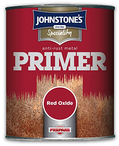 Johnstone's 750ml Speciality Anti-rust Metal Primer - Red Oxide