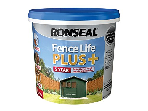 Ronseal Fence Life Plus+ Forest Green 5 Litre