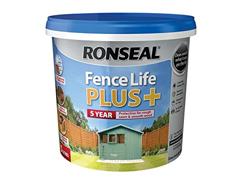 Ronseal Fence Life Plus+ Sage 5 Litre