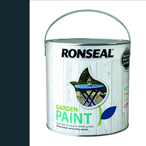 Ronseal Garden Paint Black Bird 2.5 Litre