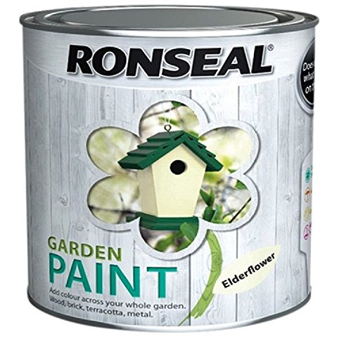Ronseal Garden Paint Elderflower 250ml
