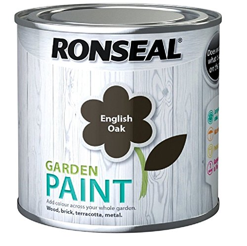 Ronseal Garden Paint English Oak 250ml