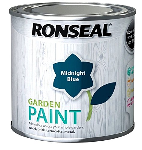 Ronseal Garden Paint Midnight Blue 2.5 Litre