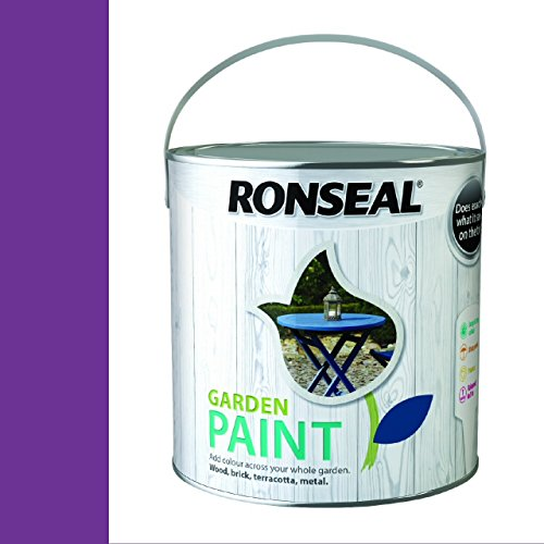 Ronseal Garden Paint Purple Berry 2.5 Litre
