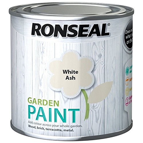 Ronseal Garden Paint White Ash 750ml