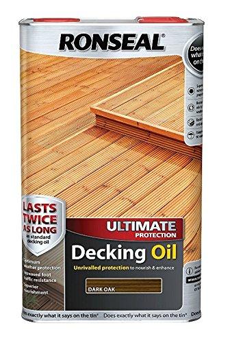 Ronseal Ultimate Protection Decking Oil - Dark Oak - 2.5 Litre