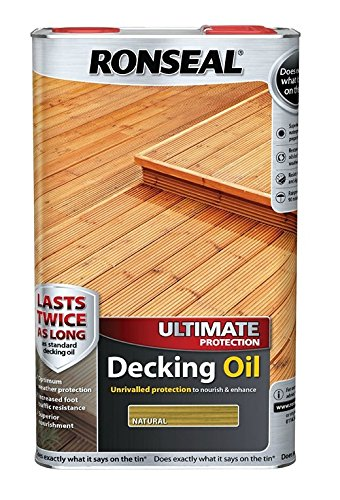 Ronseal Ultimate Protection Decking Oil - Natural - 2.5 Litre