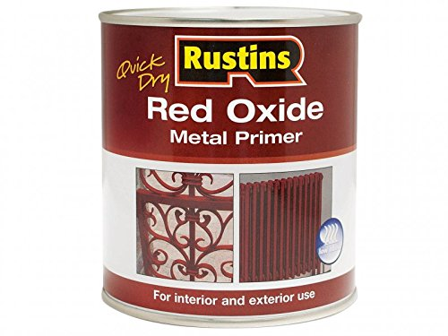 Rustins Redow1000 1 Litre Quick Dry Red Oxide Primer